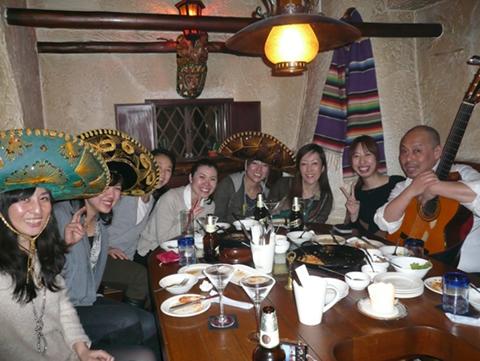 メキシコ料理で大宴会!